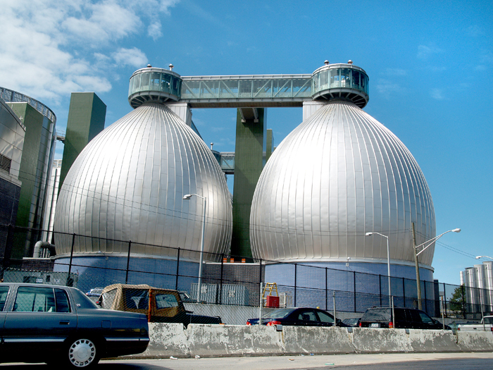 Newtown Creek Sewage Plant, Brooklyn